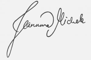 Unterschrift Jeannine Homepage